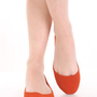 Orange Rough Faux Suede Closed Toe Flats @ Amiclubwear Flats Shoes online store:Women's Casual Flats,Sexy Flats,Black Flats,White Flats,Women's Casual Shoes,Summer Shoes,Discount Flats,Cheap Flats,Spring Shoes,Cute Flats Shoes,Women's Flats Shoes,Sneaker