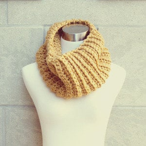 Unicrn Blu Ribbed Cowl