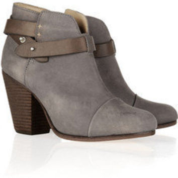 Rag & bone | Harrow brushed-leather ankle boots | NET-A-PORTER.COM