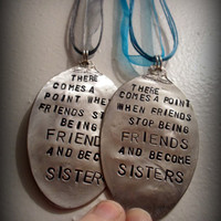 Best Friends/Sisters Charms SET OF 2