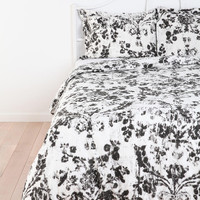 Urban Outfitters - Plum & Bow Distressed Damask Sham - Set Of 2