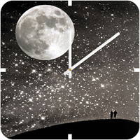 DENY Designs Home Accessories | Shannon Clark Love Under The Stars Custom Clock