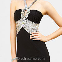 Jeweled Evening Dresses by Terani Couture