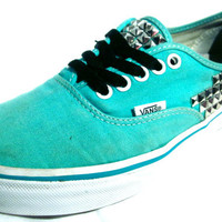 Studded Vans, Custom Made :)