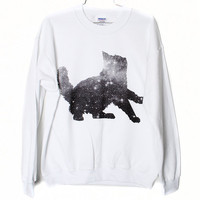 Galaxy Cat Sweatshirt (Select Size)