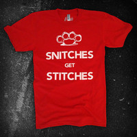 Product - The Snitches Tee by Fresh Filth Clothing · Storenvy