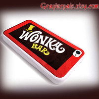 Willy Wonka Bar Design iPhone 4 Case or iPhone 4s by Graphicpals