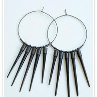 Kristen Elspeth African Sunburst Earrings at ShopGoldyn.com