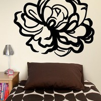 Large Rose Decal  - Gifts + Kits