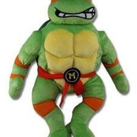 Teenage Mutant Ninja Turtles Michelangelo Plush Figure Backpack 18