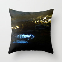 underwater Throw Pillow by agnes Trachet | Society6