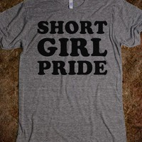 Short Girl Pride - Text First