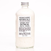 Coconut Milk & Colloidal Oatmeal Bath Soak. Milk Bath. Large 16 oz. 100% Natural. Vegan. Organic Colloidal Oatmeal.