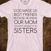 God Made us Best Friends - Text First