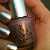 HOLOGRAPHIC opi nail polish ds DIAMOND 021 HTF discontinued light silver/lilac