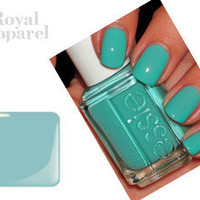 ESSIE NAIL POLISH FLIRTY AND PRETTY TROPICAL AQUA (720 TURQUOISE & CAICOS)