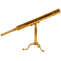 1STDIBS.COM - R. Jorgensen Antiques - English Brass Refracting Telescope