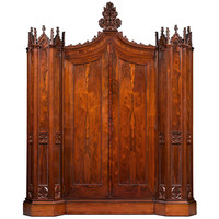 1STDIBS.COM - MS Rau Antiques - Crawford Riddell - Henry Clay Rosedown Armoire