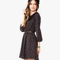 Lace Yoke Floral Dress | FOREVER 21 - 2022592389