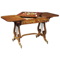 1STDIBS.COM - Florian Papp Inc. - Regency Sofa Games Table. Circa 1810