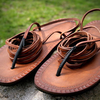 Leather Tarahumara Huarache sandals