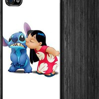 Lilo And Stitch Custom iPhone 4 4S Case Cover 205