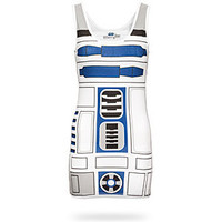I Am R2D2 Ladies Tunic Tank
