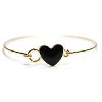 Black Heart Cuff | VidaKush