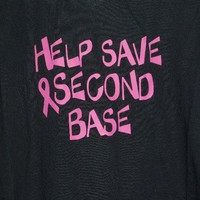 shirt Breast Cancer Awareness Help Save Second by OodlesDecals