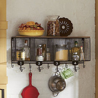 Wire Cubbie Shelf from Through the Country Door®