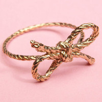 Kiel Mead Forget Me Knot Ring