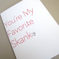 Funny Valentine Funny Valentine's Day Card by FunGirlsCards