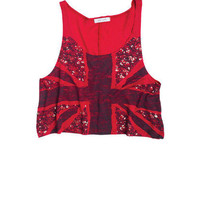 Demi Graphic Union Jack Tank