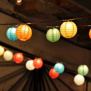 24 Small Paper Lanterns Wedding Party Nursery or by sisters520