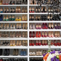 The Modern Glam Project - modern - closet - los angeles - by Lisa Adams, LA Closet Design