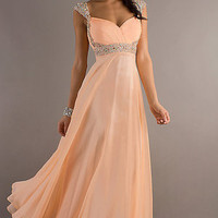 Hot Sales Chiffon Evening Formal Party Ball Prom Bridesmaid Dresses Wedding Gown