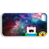 Amazon.com: Apple iPhone 4 4G 4S Vintage Jake Finn Amazed Nebula Hipster Adventure Time Design WHITE Sides Slim HARD Case Skin Cover Protector Accessory Vintage Retro Unique AT&T Sprint Verizon Virgin Mobile: Cell Phones & Accessories