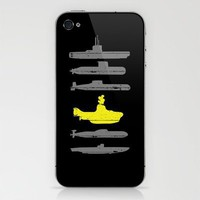 Know Your Submarines Phone Skin by Resistance | Society6
