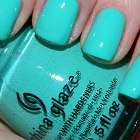New! CHINA GLAZE~ ELECTROPOP COLLECTION  AQUADELIC  Nail Polish!