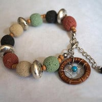 accessoryinlove — Handmade Dream Catcher  Beads bracelet