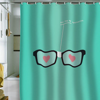 "Nicole Martinez ""You Fog My Spectacles"" Shower Curtain"