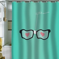 Nicole Martinez &quot;You Fog My Spectacles&quot; Shower Curtain