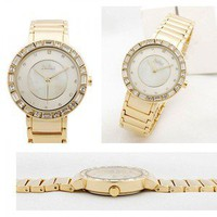 accessoryinlove — Diamante Pave Round Watch