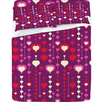 DENY Designs Home Accessories | Heather Dutton Falling In Love Sheet Set