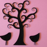 Curly Tree With Birds | Luulla