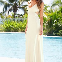 Open back maxi dress from VENUS