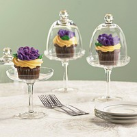 Domed Dessert Server - Fresh Finds - Kitchen > Decorative