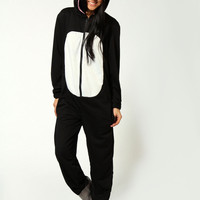 Katie Kitty Kat Hooded Onesuit