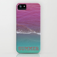 SUMMER iPhone Case by Galaxy Eyes | Society6
