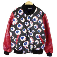 eyeball Galaxy  jacket blazer PU leather